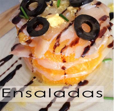 ensalada remojón de bacalao y naranja
